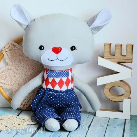 duży miś - tomuś - 46 cm - zabawka, maskotka, przytulanka roczek, boże