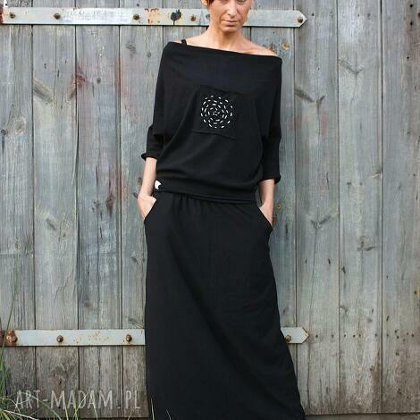 nicość - komplet, sukienka, spódncia, bluza, dzaininowa, wygodna