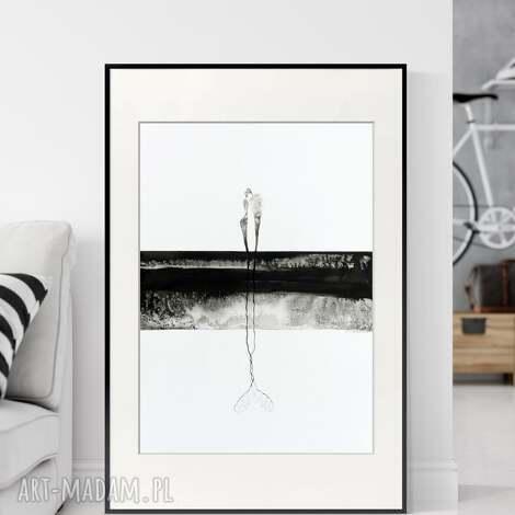 obraz ręcznie malowany 50 x 70 cm, nowoczesna abstrakcja, 2794408