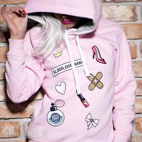 bluza milion dollar baby, naszywki, haft, wszywki, prezent, urodziny, modna