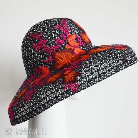 kapelusz audrey (letni haft, krynolina)