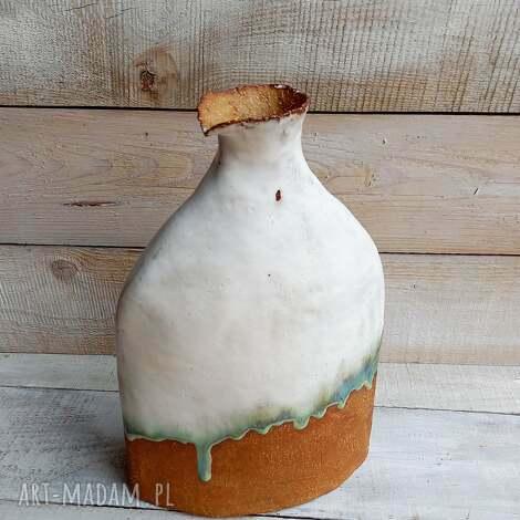 duży wazon ceramiczny, ceramiczny, wazon, szamotowy, wyjątkowy