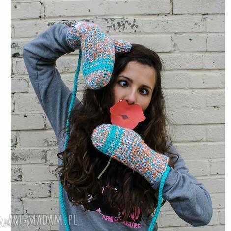 rękawiczki mode 8 - braininside, rękawiczki, dwupalczaste, zima