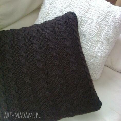 moja magia czekoladowa i kremowa, poduszki, dekoracja