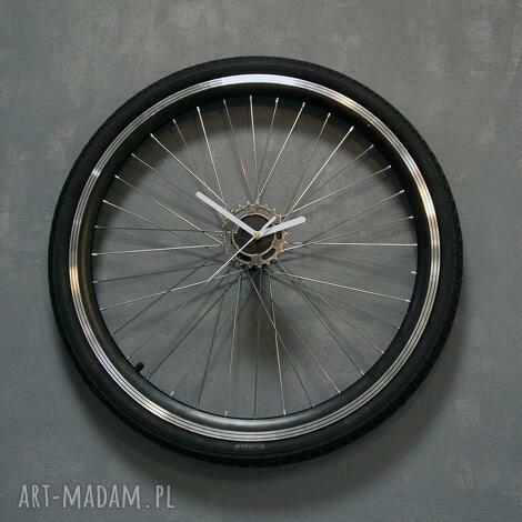 unikalny prezent, zegar ścienny tire, zegar, duży, ścienny, rower, rowerowy