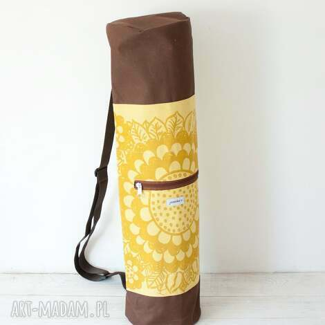 unikalny prezent, torba na matę - etno, etniczna, joga, pilates, fitness, sport