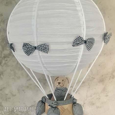 oryginalna lampa lamado latający miś - sufitowa, lampa, wisząca, balon