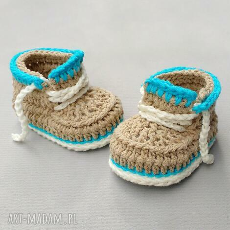 buciki kingston, buciki, trampki, prezent, niemowlęce, dziecięce, bawełaniane dla