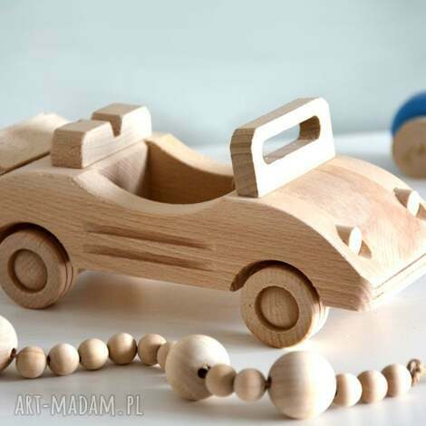 samochód drewniany - samochód, auto, drewniane, samochodzik, drewno, pojazdy