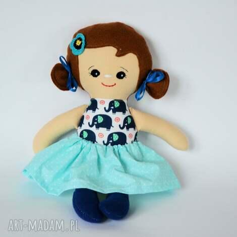 lala tośka - lusia 35 cm, lalka, słonik, roczek, chrzest, szczęście, urodziny