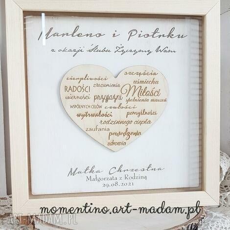 życzenia ślubne prezent ślubny od matki chrzestnej, życzenia ślubne