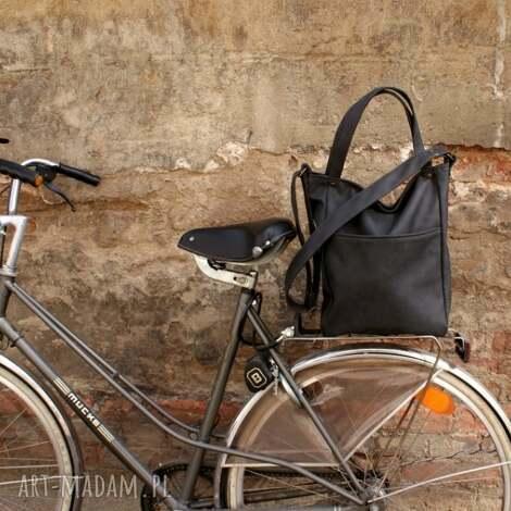 na ramię iks pocket grafit vegan, torba, torebka, casual, shopper