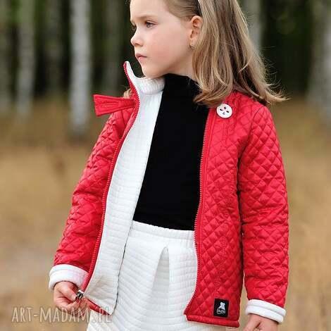 leniwamysz dwustronna kurtka dla dziewczynki, kurtka, przejściówka, dziewczynka