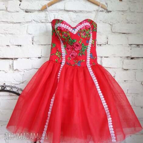sukienka folk design aneta larysa knap,