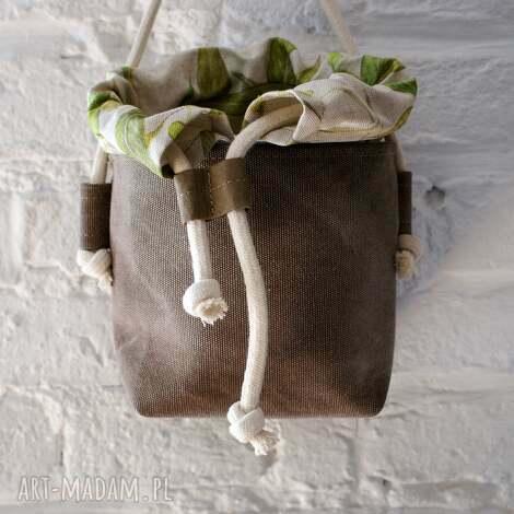safari basket mini len lipa, torba, vegan, boho, len, mini, natura