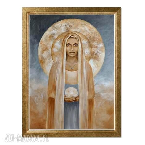 sybilla, oryginalny obraz ręcznie malowany, obraz, ręcznie, postać