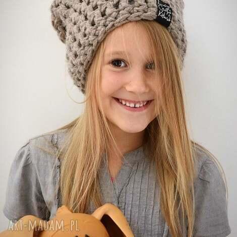 monio 19 - czapka, czapa, zima, zimowa, ciepła, dziecięca