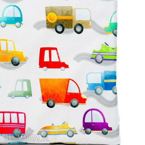 pokoik dziecka poduszka pikowana velvet cotton auta/szary, poduszka, dziecko, wózek
