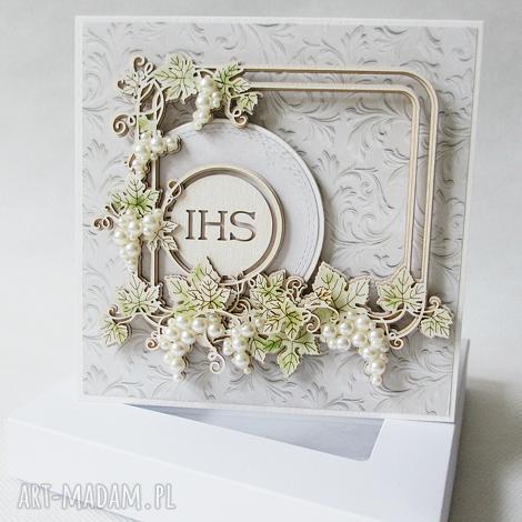 pierwsza komunia - w pudełku - komunia, pamiątka, zaproszenie, życzenia