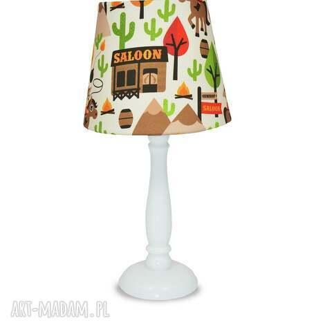 lampka dziki zachód - lampka, nocna, stojąca, kowboj, popielewska, style