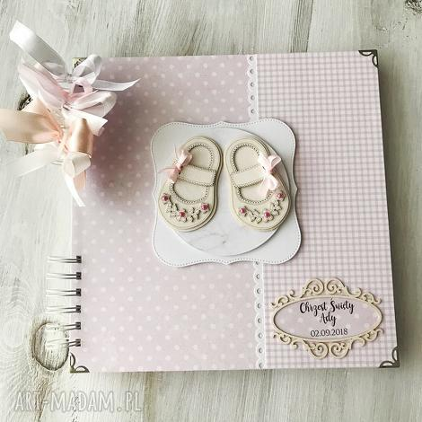 album dla dziewczynki - różowy, album, dziewczynka, prezent
