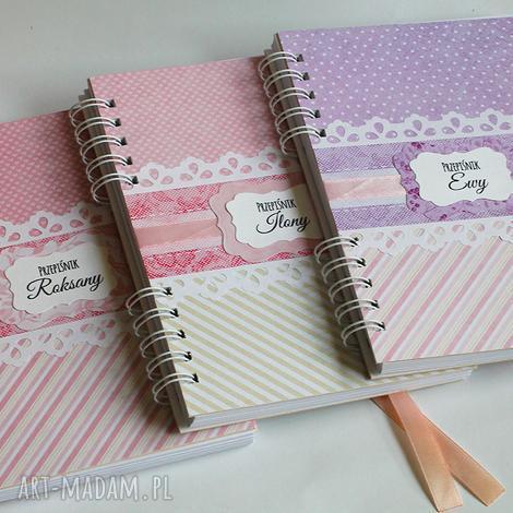 przepiśniki, scrapbooking, notes, przepiśnik, przepisy, książka kucharska, kulinaria