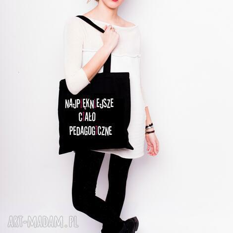 torba bawełniana eko najpiękniejsze ciało pedagogiczne, eko, zakupy, nauczyciel