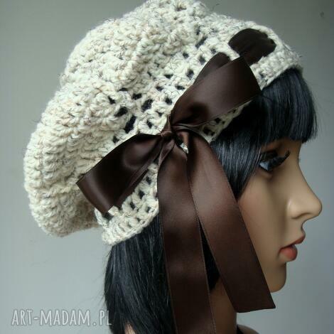 melanżowy beret ciepła