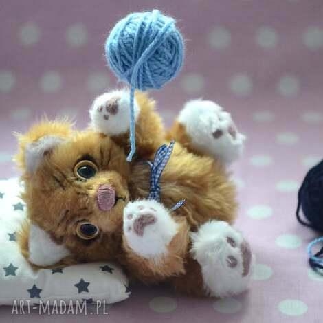 hand made, kocia betka, szyta ręcznie, unikalna,zabawka,przytul misie , miś, kotek