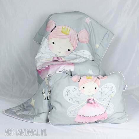 zestaw łóżeczka kocyk płaska poduszka wróżki - kocyk, niemowlak