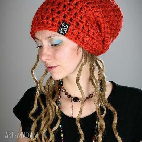 dreadlove mono 09 - czapka, długa, zima, ciepła, dredy, dready