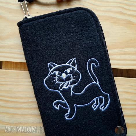 filcowe etui na telefon - kotek, smartfon, pokrowiec, futerał, prezent
