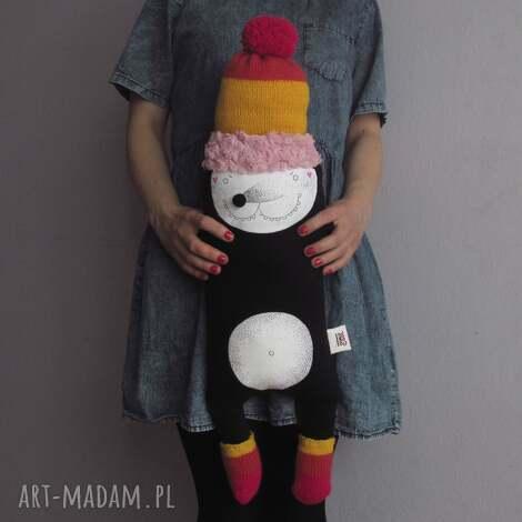krecik archie - na zamówienie - polar, krecik, czapka, pompon, bawełna