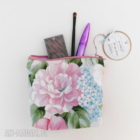 kosmetyczka saszetka vintage kwiaty, kosmetyczka, saszetka, organizer