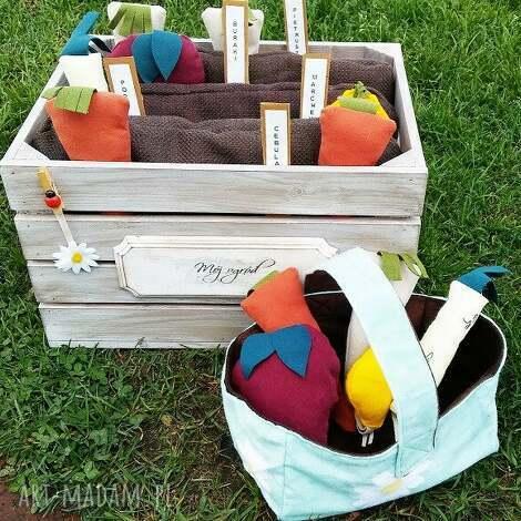 ogródek - zabawka, skrzynka, ogródek, warzywa, prezent