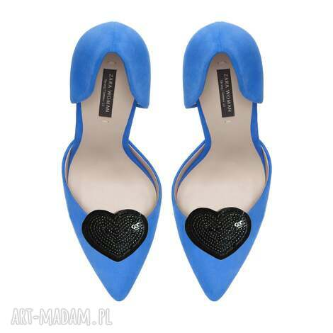 małe cekinowe serca - klipsy do butów, serca, cekiny, ozdoby, ozdoby