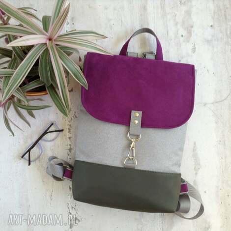 wyjątkowy prezent, damski plecak, plecak na laptopa