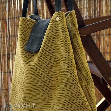 na ramię torba - worek ramię, torba, miejska, hobo, codzienna, prezent