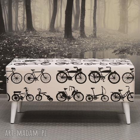 ławka white bikes, ławka, ławeczka, pokoiku, przedpokoju, rowery, rower dekoracje dom