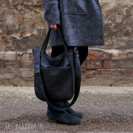 miniks vegan grafit, torebka, torba, vegan, vege, kieszeń na ramię torebki