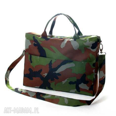 torba nie tylko na laptopa, torba, laptop, notebook, moro, wojskowa, kordura torebki