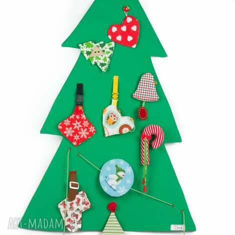 choinka interaktywna w duchu montessori - choinka, zabawka, prezent, święta