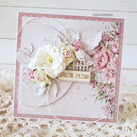 scrapbooking kartki serdeczne życzenia - kartka w pudełku, 592, urodziny