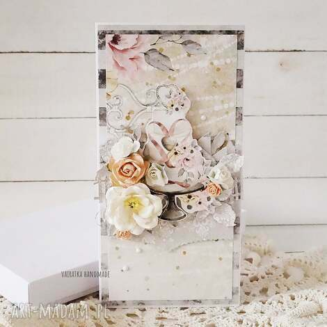 kartka ślubna w pudełku, 590 ślub, wesele