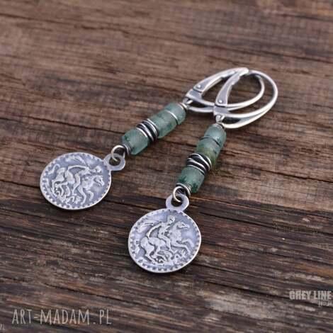 szkło antyczne i moneta, srebro, szkło, antyczne, zafganistanu