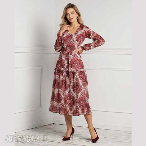 sukienki sukienka lana total midi oriana, midi