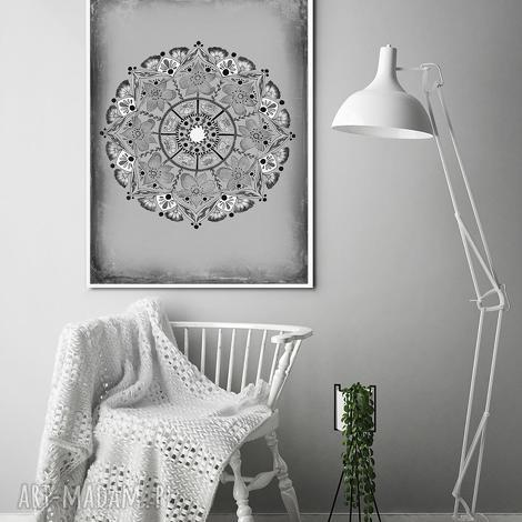 mandala 50x70cm, mandala, plakat, obraz, grafika, dom, sztuka