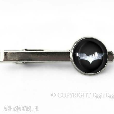 męska nietoperz - spinka do krawata, spinka, nietoperz, batman, superbohater