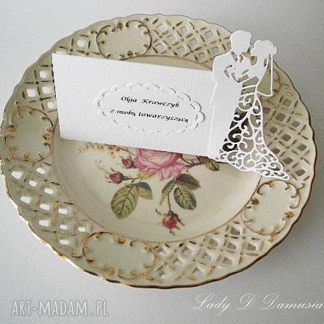 winietki ślubne wizytówki na stół weselny, ślub, winietki, wizytówki, podziękowanie