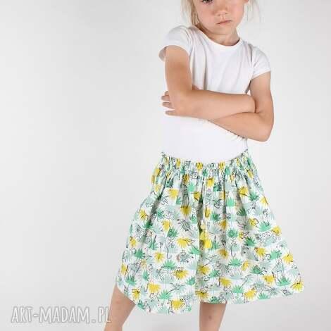 ubranka spódnica green, spódnica, lato, dziewczynka dla dziecka